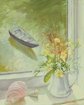Timothy Easton - Obrazová reprodukce First Flowers and Shells 30x40 cm