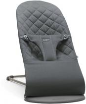 BabyBjörn Bouncer Soft Bliss Cotton Anthracite