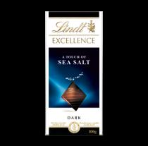 Lindt Excellence with A Touch of Sea Salt 100 g