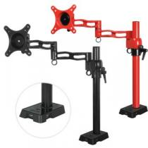 ARCTIC Z1 red - single monitor arm with USB Hub integrated (red color)