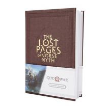 Gaya Entertainment CurePink blok God of War: The Lost Pages of Norse Myth 14,8 X 21 cm