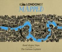 AA Publishing Londonist Mapped: Hand-drawn Maps for the Curious Explorer