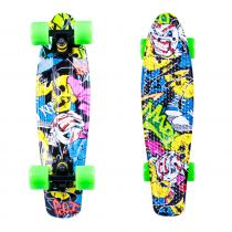 """WORKER Penny board Colory 22"""""""