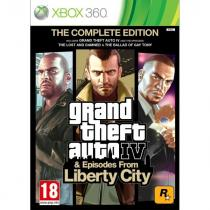Grand Theft Auto 4 & Episodes from Liberty City (The Complete Edition) (Xbox 360)