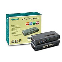 Micronet 4-port KVM Switch PS/2 SP214EL