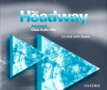 John a Liz Soars New Headway Advanced Class 3xCD