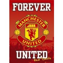 POSTERS MANCHESTER UNITED forever plakát 61 x 91 cm