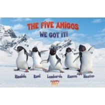 POSTERS HAPPY FEET the five amigos plakát 61 x 91 cm