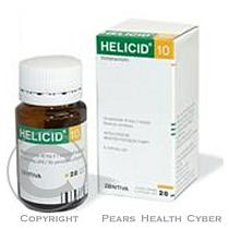 ZENTIVA A.S. HELICID 10 14X10mg