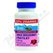 SWISS HERBAL REMEDIES LTD MAX BRUSINKY PASTILKY tbl.30+6