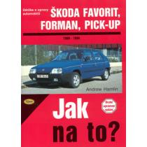 Škoda Favorit, Forman, Pick-up - Jak na to? 37