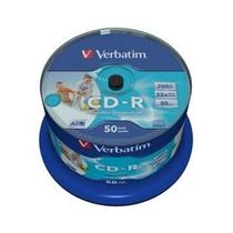 Verbatim CD-R, 52x, 50-spindle