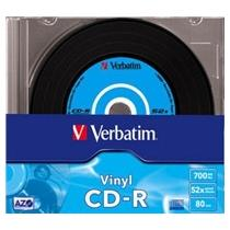 Verbatim CD-R, 52x, 10-slim