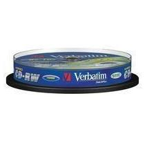 Verbatim CD-RW, 8x - 12x, 10-spindle