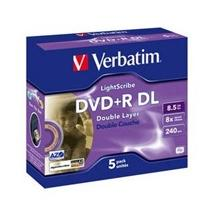 Verbatim DVD+R Double Layer, 8x, 5-jewel
