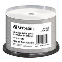 Verbatim DVD-R, 16x, 50-spindle