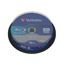 Verbatim BD-R(10-pack)Blu-Ray/spindle/4x/25GB