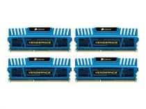 Corsair Vengeance Blue 16GB (4x4GB) DDR3 1600 CL 9 (CMZ16GX3M4A1600C9B)