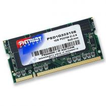 Patriot Signature 1GB DDR 333Mhz SO-DIMM CL 2,5 (PSD1G33316S)