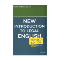 New Introduction to Legal English II. - Davidson Sean W.
