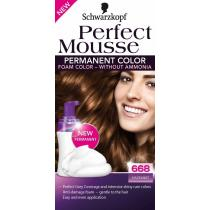 SCHWARZKOPF Perfect Mousse č.668 Oříšek