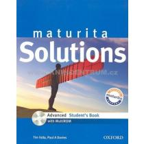 Oxford Maturita solutions ADV SB CZ + CD-ROM