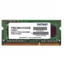 Patriot Signature Line 8GB DDR3 1333Mhz SODIMM CL9 (PSD38G13332S)