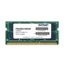 Patriot Signature Line 8GB DDR3 1600 SODIMM CL11 (PSD38G16002S)