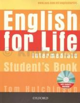 Tom Hutchinson: English for Life Intermediate Studenťs Book + Multirom Pack