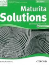 Tim Falla: Maturita Solutions Elementary 2nd Ed. Workbook with Audio CD PACK Czech Edition