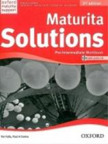 Tim Falla: Maturita Solutions Pre Intermediate 2nd Ed. Workbook with Audio CD PACK