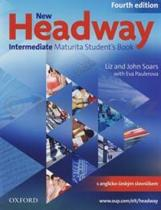 John a Liz Soars: New Headway Intermediate Maturita Studentƒs Book Fourth Edition + iTutor DVD rom
